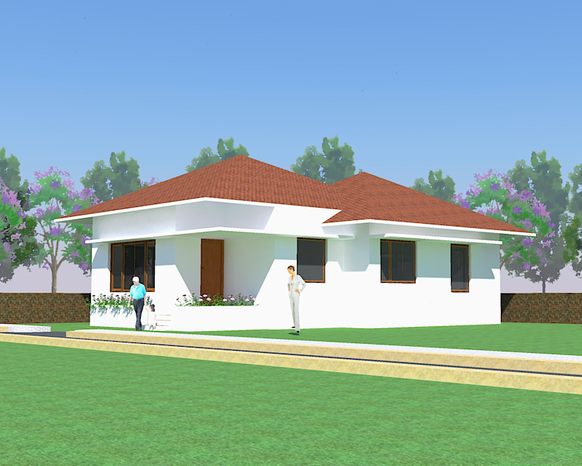 Small house plans small home plans small house for Small bungalow house plans in india