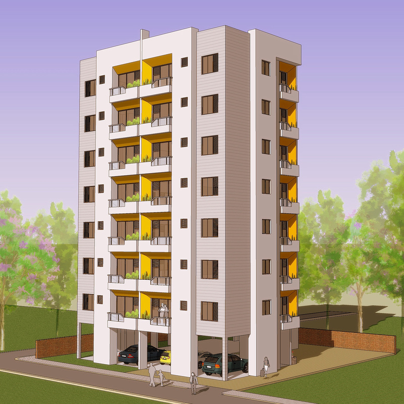 Apartment building design building design apartment for Free online building design