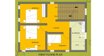 House Floor Plan - 4003 | HOUSE DESIGNS | SMALL HOUSE PLANS | HOUSE ...